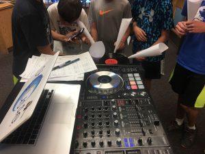 DJ Class Students