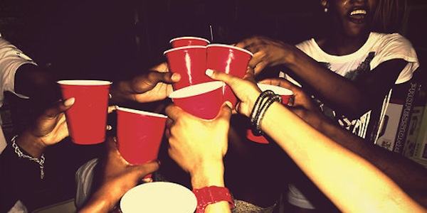 red cup party